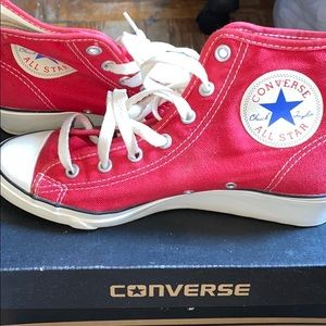 Converse wedges ❤️🤍